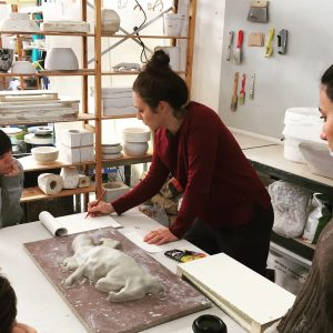 Γλυπτική: Κατασκευή Καλουπιών Ι // Mold making workshop Ι